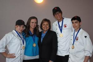 ProStart 2012 Sandia High Culinary Team sm