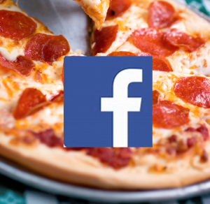 facebook pizza