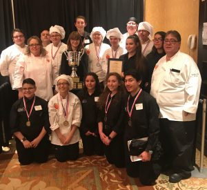 Winners of the 2018 New Mexico ProStart Invitational!