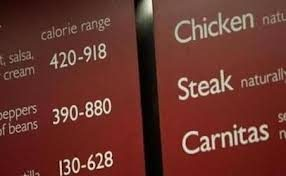 Menu Labeling in Full Force and Effect