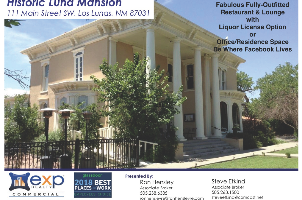 Historic Luna Mansion for Sale