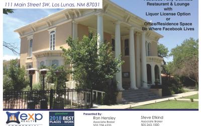 Historic Luna Mansion for Sale