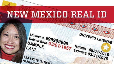 New license id card