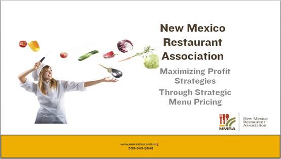 Maximizing Profit Through Menu Pricing
