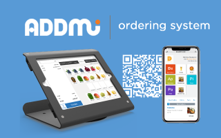 Contactless ordering and payments with Addmi!