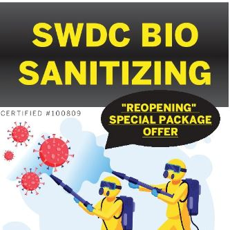Disinfect with SWDC Reopening Special