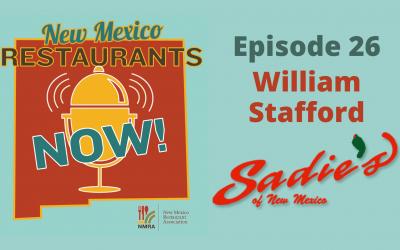 William Stafford – Sadie's of New Mexico – Albuquerque, NM